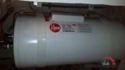 Install Rheem Storage Water Heater Singapore Condo Sembawang