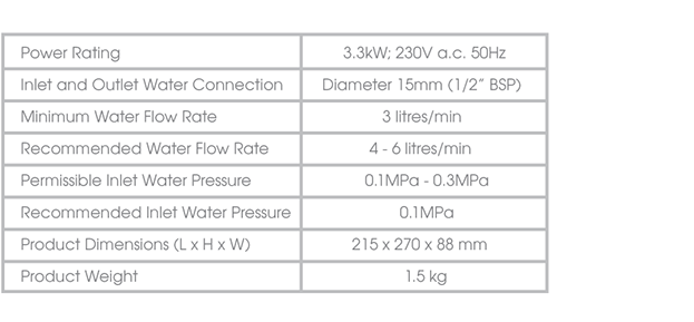 707-COMPACT-specifications-water-heater-singapore