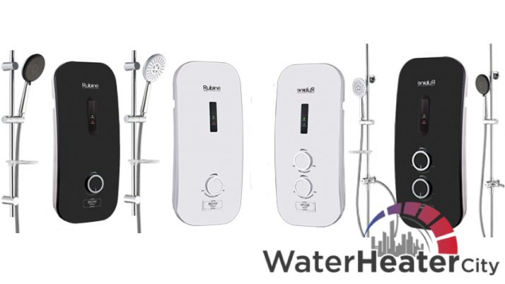 Normal Shower vs Rain Shower – Rubine Water Heaters